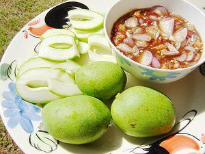 Thai fruit mamuang nam pla super sour mangoes joys thai food thai fruit mamuang nam pla super sour mangoes joys thai food recipe forumfinder Gallery