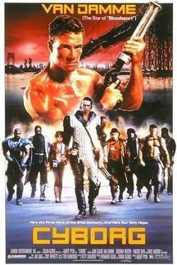 Cyborg 1989 Van Damme Is A Cyborg Savior Funny Action Movies Cyborg Movie Van Damme Cyborg