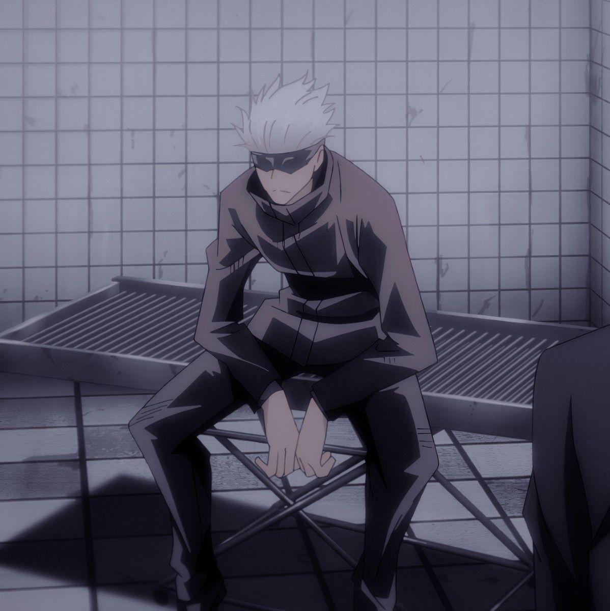 Satoru Gojo Icon Jujutsu Anime Romance Aesthetic Anime
