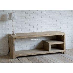 Mobile basso tv in legno di recupero | MY FORNITURE | Pinterest