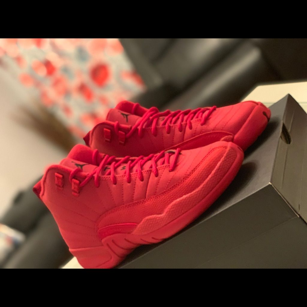utilizar cuerno Cadera  Jordan Shoes | Jordans Retro 12 Gym Red | Color: Red | Size: 5  #womenshoessize12 | Jordan shoes girls, Adidas shoes women, Casual shoes  women flats