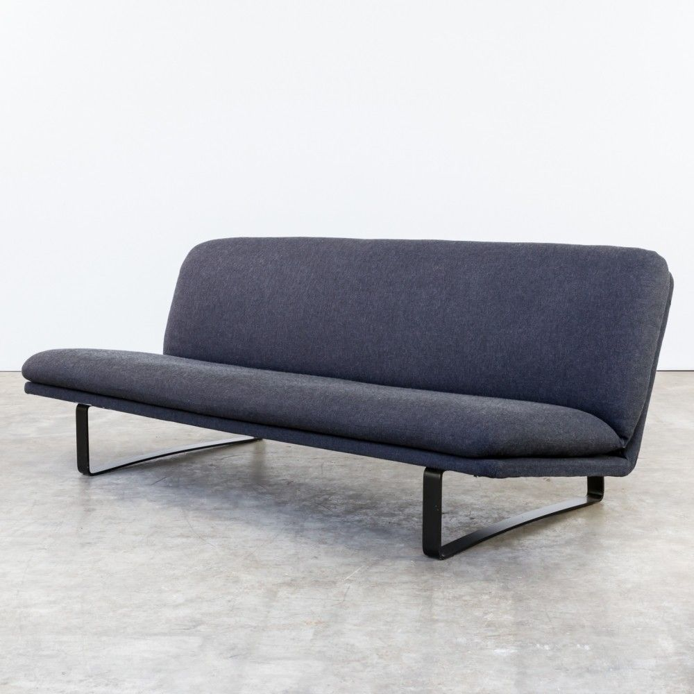 Model 683 Sofa From The Sixties By Kho Liang Ie For Artifort