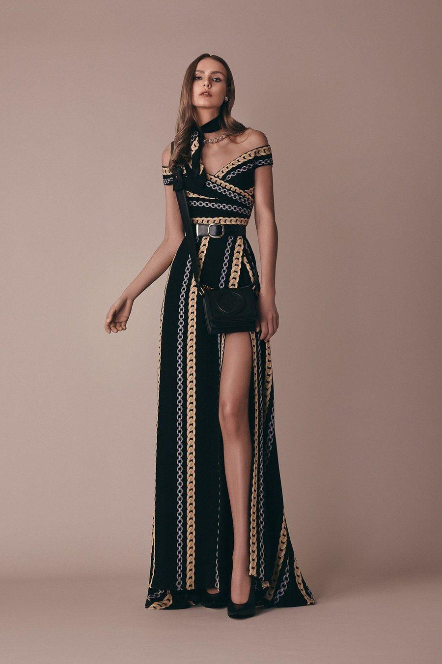 Elie Saab Pre-Fall 2019 Fashion Show -  Elie Saab Pre-Fall 2019 collection, runw...