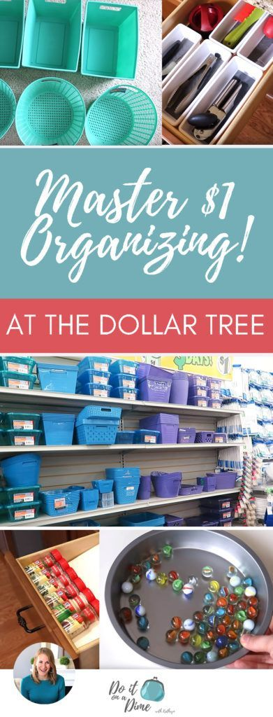 HOW I MASTERED DOLLAR TREE ORGANIZING and you can too In todays vi