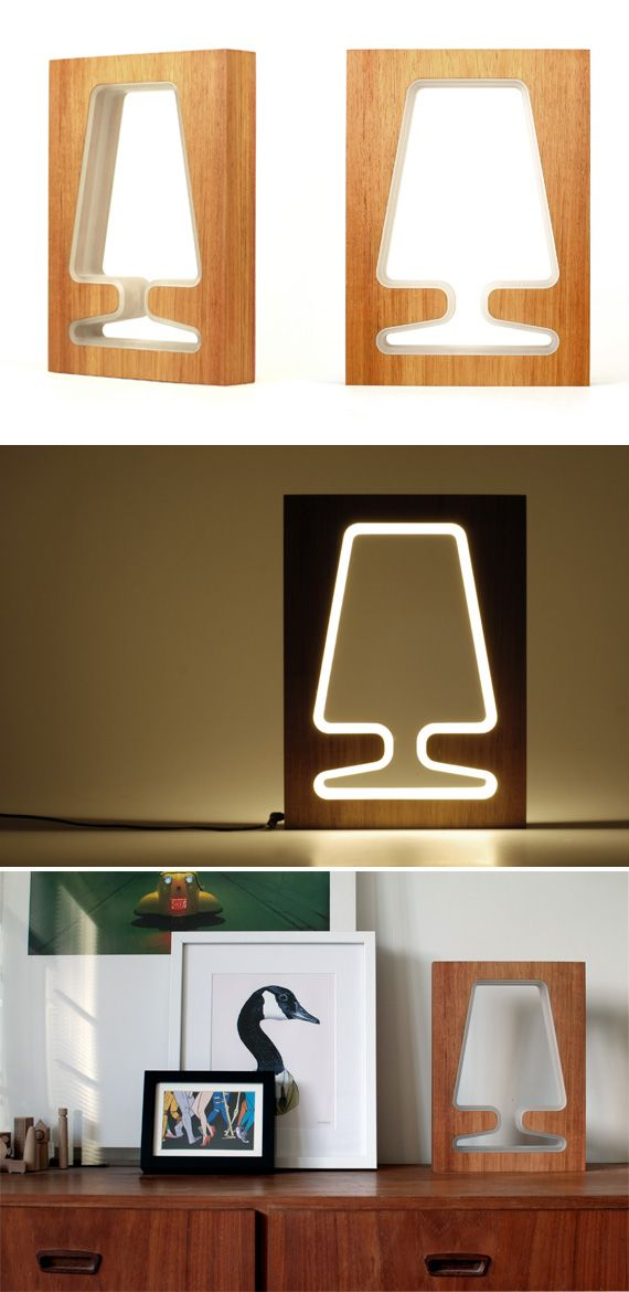 B lack Butt timber, don't you just love the name!  This lovelylight was made by the very talented Industrial Designer Richard Harrod (w...