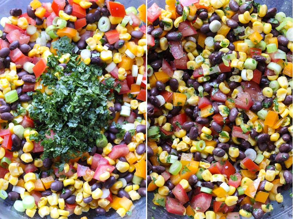 Taco Salads with Chickpea 'Beef'