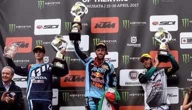 Tony Cairoli, trionfo tricolore in Trentino - http://www.canalesicilia.it/tony-cairoli-trionfo-tricolore-trentino/ Motocross, News, Tony Cairoli