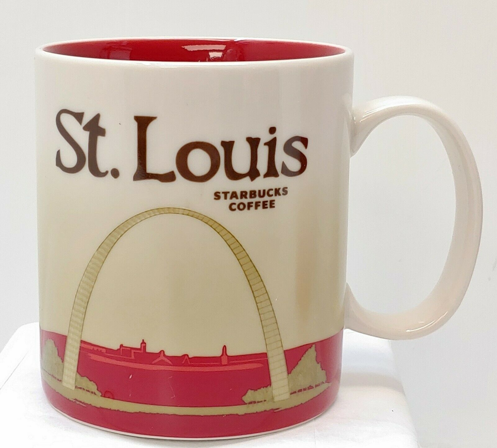 Starbucks St. Louis MO Coffee Mug Cup City Collector