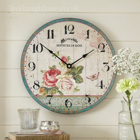 Spring Time and Sunshine Relgios Pinterest Decoupage