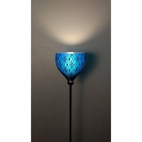 Abat jour de Lampe ou Applique murale Noir et Bleu pour mod¨le IKEA