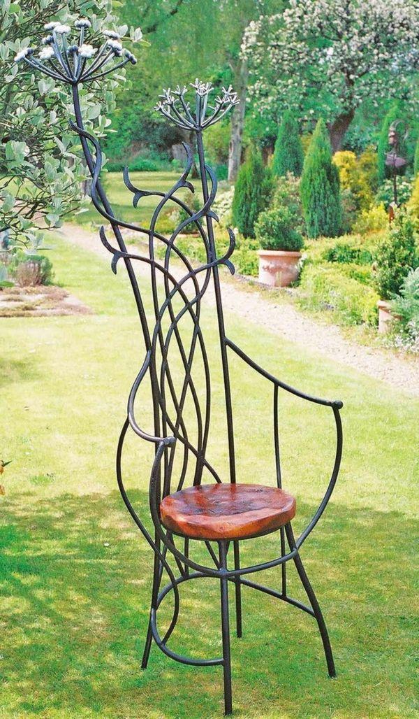 métale chaise original | Chaises | Gartenmöbel ideen ...