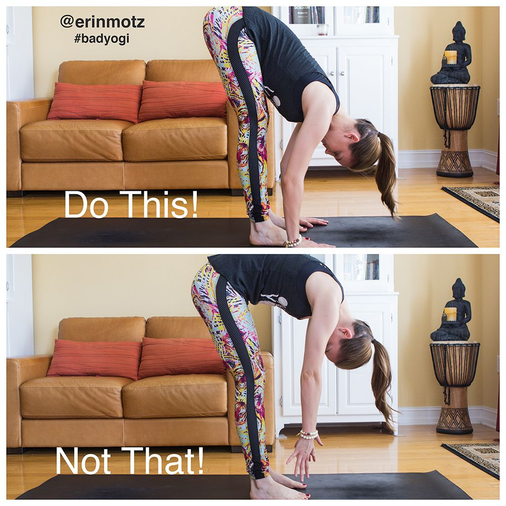 Do This, Not That: 5 Poses Everyone Does Wrong & How To Fix Them (with pictures!) | Bad Yogi