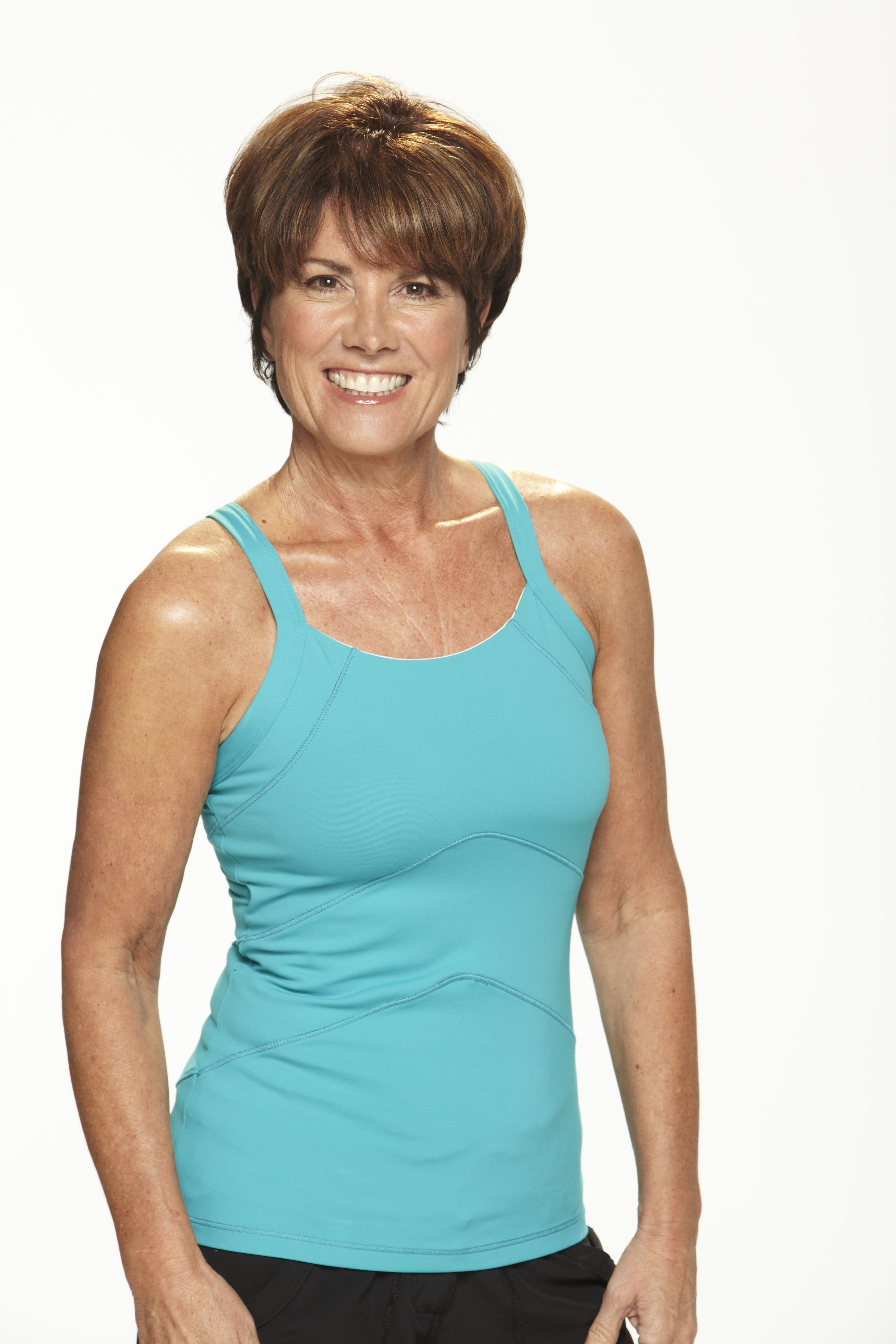 """""""Jazzercise has changed my life! After finally finding a workout I love, I've lost 35 lbs. and gained control of my health! I've danced my way to a size 2."""" — Nancy, 53"""
