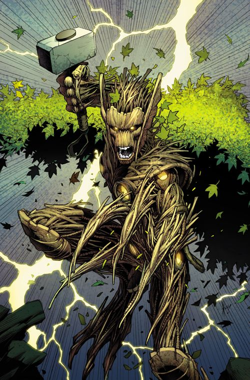 Image result for thor groot