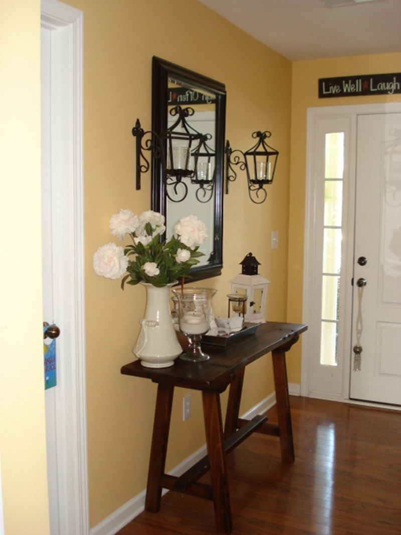 8 eminent entryway table ideas to make an aesthetic on small entryway console table decor ideas make a statement with your home s entryway id=33822