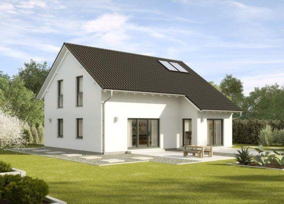Einfamilienhaus klassisch mit Satteldach, Erker Anbau, 5