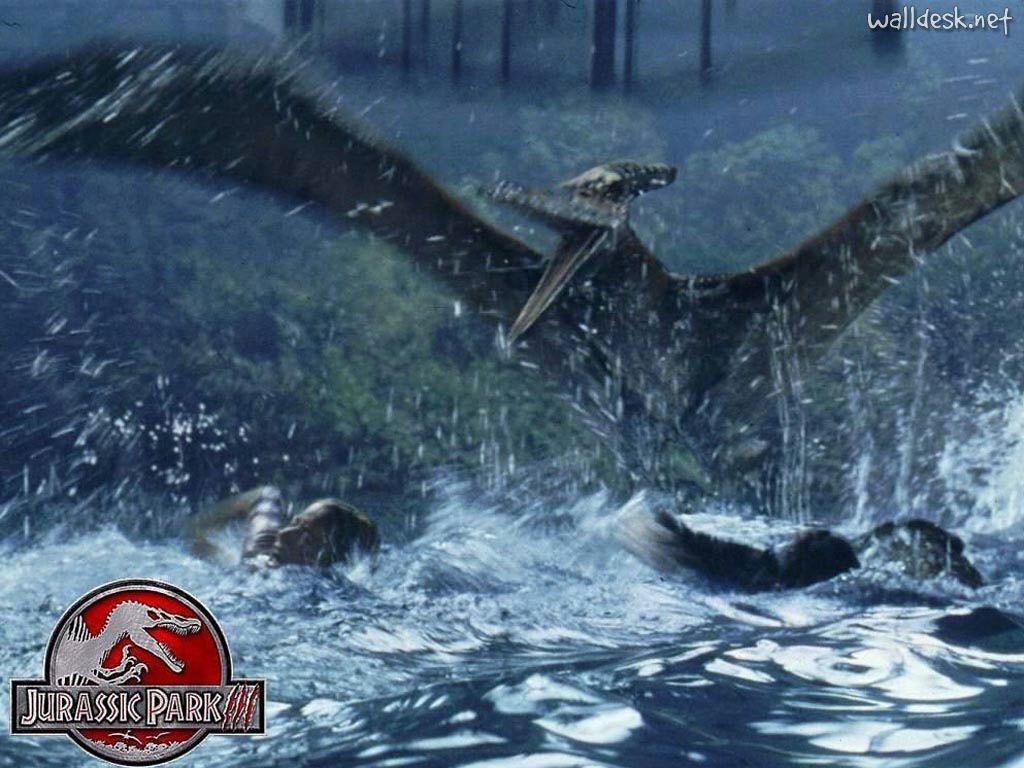 Water pterodactyls Jurassic park film
