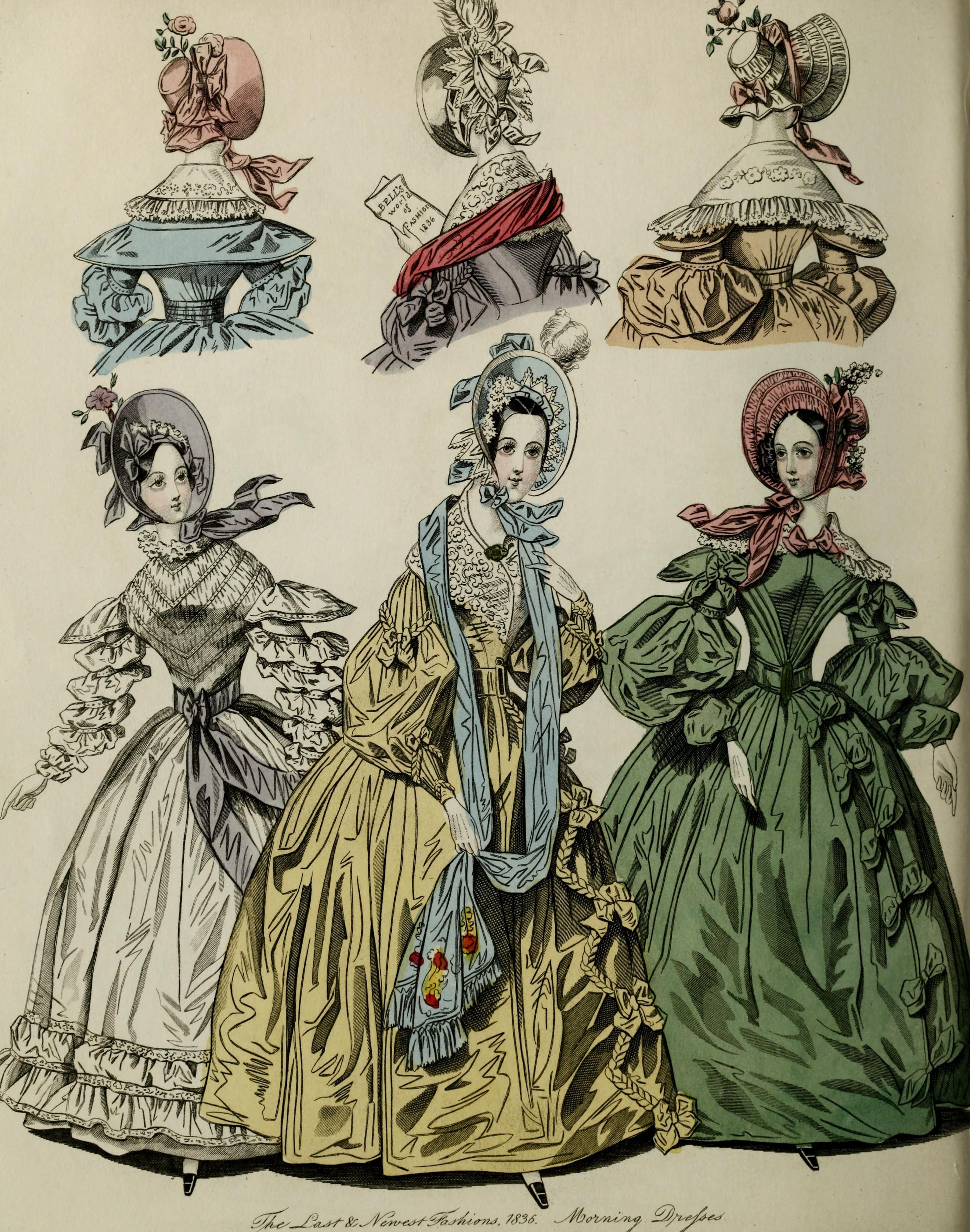The World of fashion and continental feuilletons