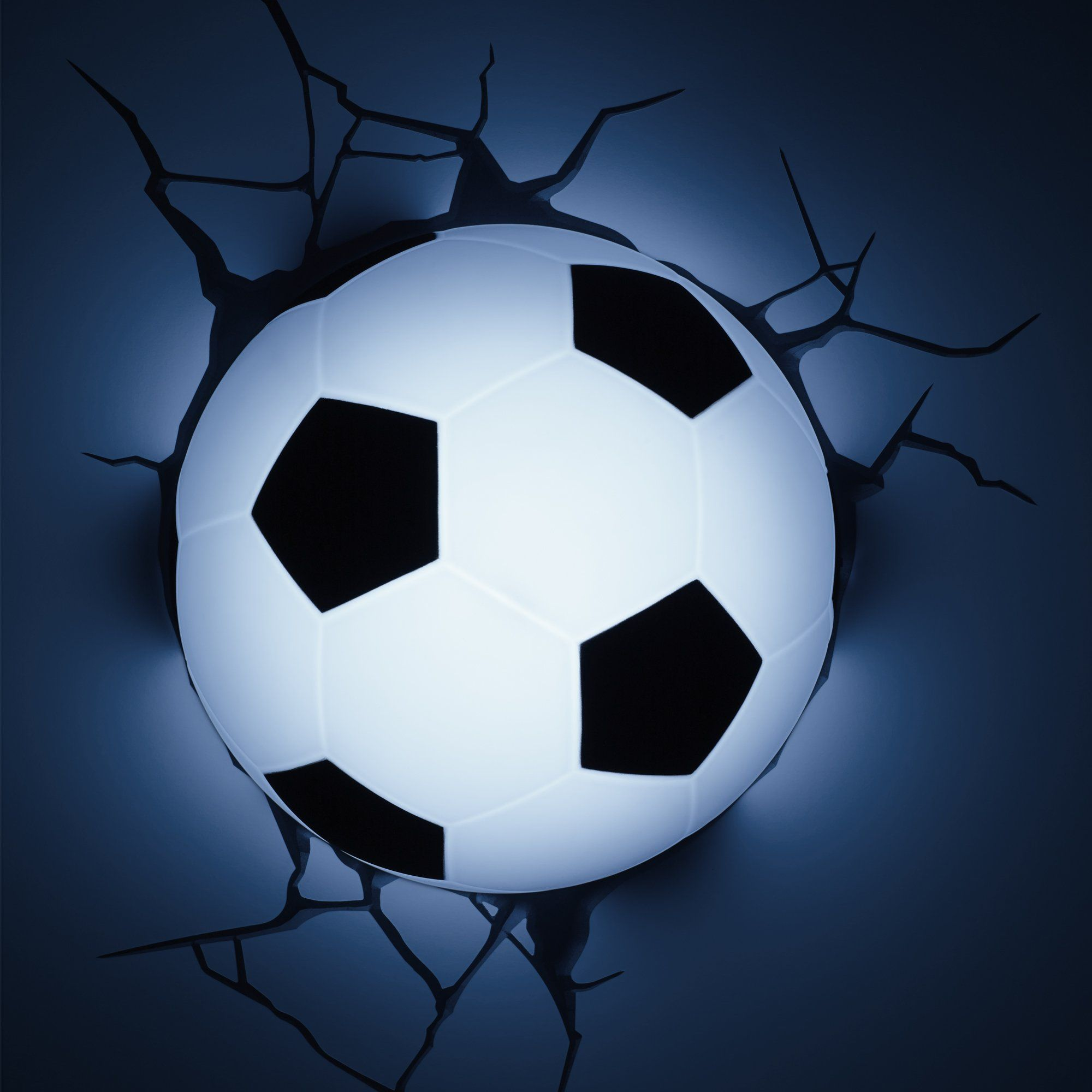 3dlightfx Sports Soccer Ball 3d Deco Light Click Image For More Details It Is Amazon Affiliate Link Kids Football Lights Football Wall Wall Mounted Light