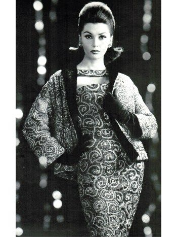 French Designer Suits Fall Winter 1959 Vintage Clothes Pinterest
