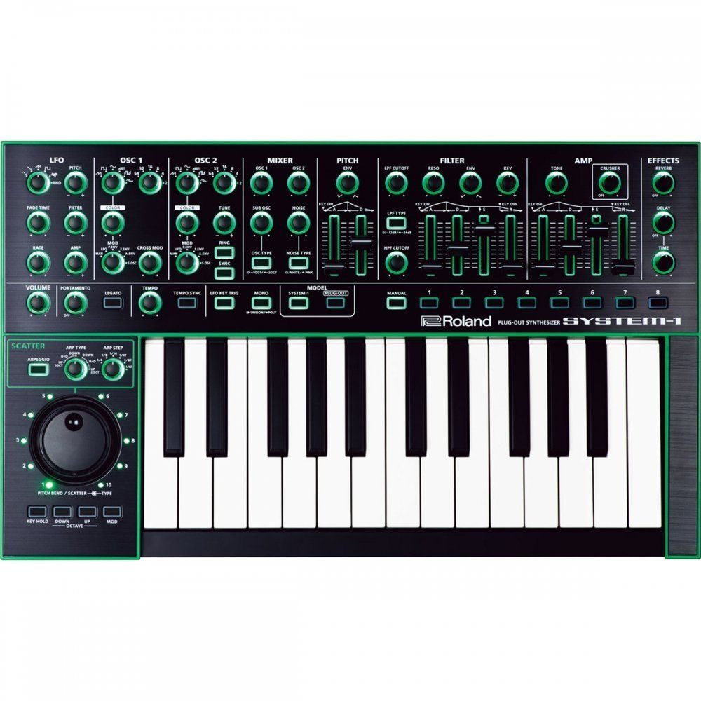 Amazon com: Roland System-1 AIRA Variable Synthesizer Keyboard