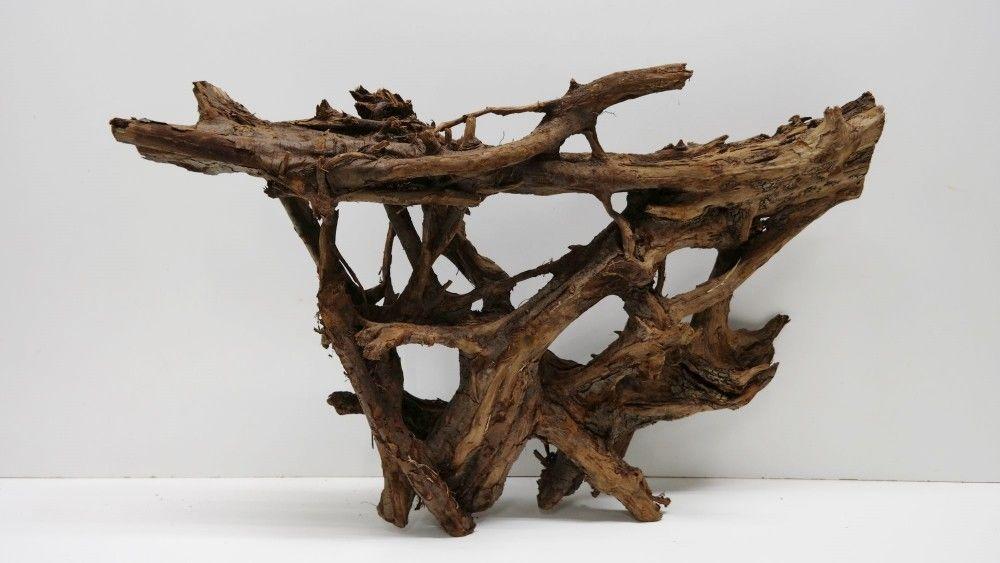 Xxl mangrovenwurzel ma e 80x22x40 aquarium wurzel for Holz deko aquarium