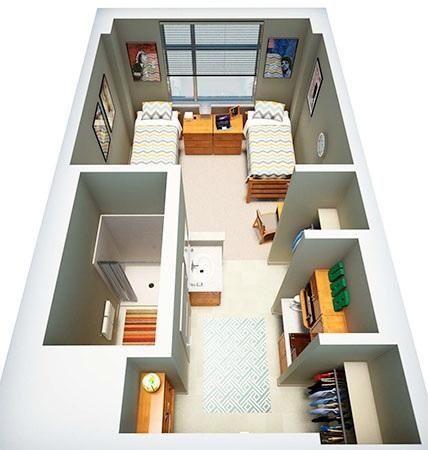 Dorm Room Bathroom Ideas Small Spaces