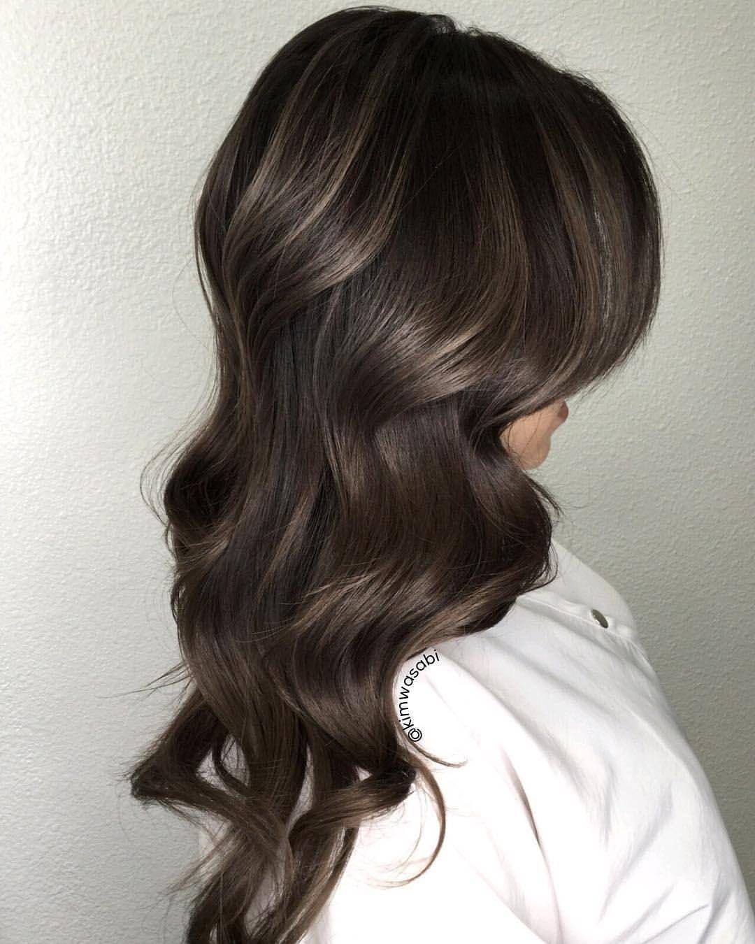 Pin By Sarah Nguyen On Cute Hair In 2019 Brown Hair