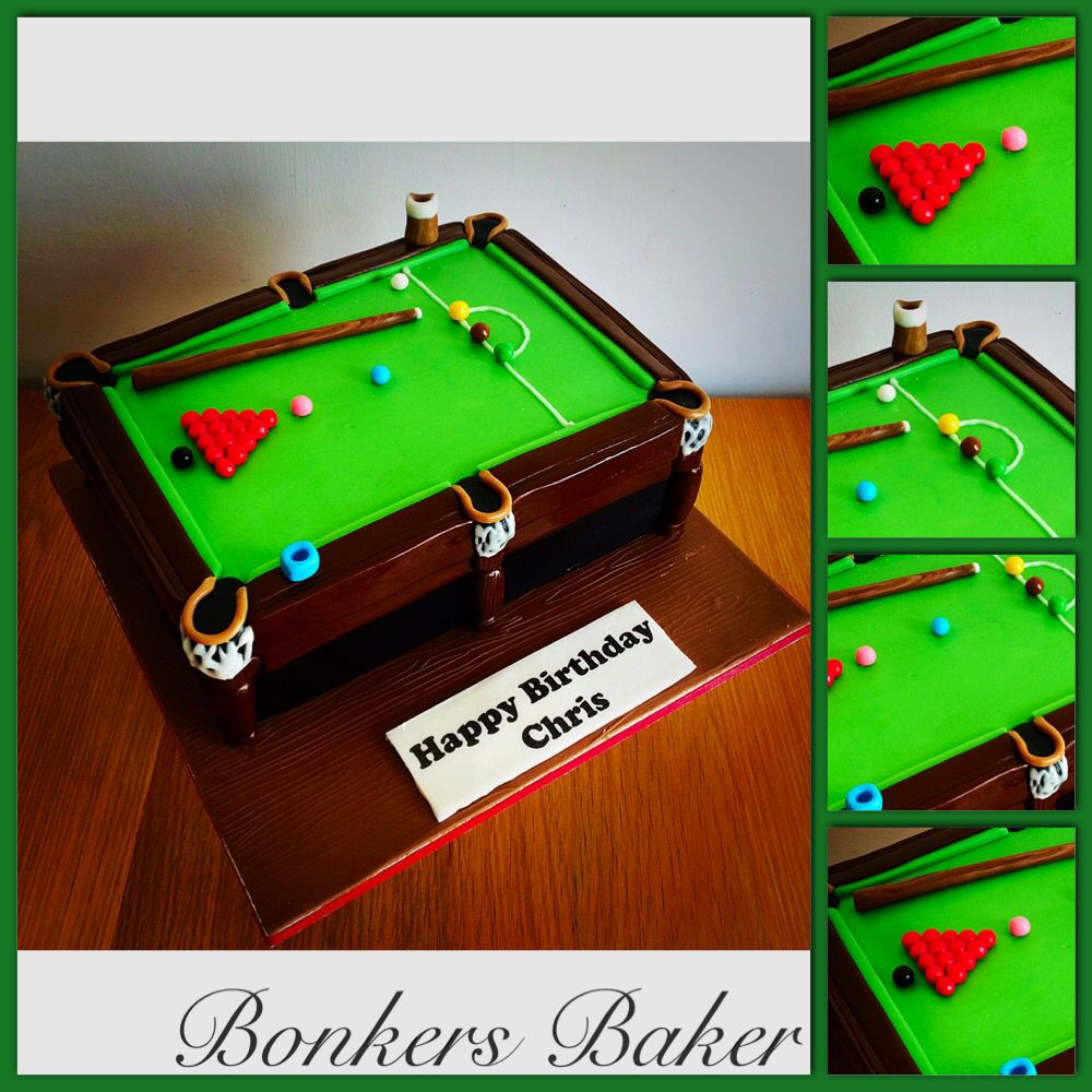 Snooker Table Cake In 2019