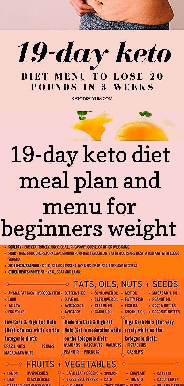 The keto diet is a lowcarb diet that can help you to lose weight In this article we will show you 19day Ketogenic diet meal plan ketogenic food list PDF infographic  low...