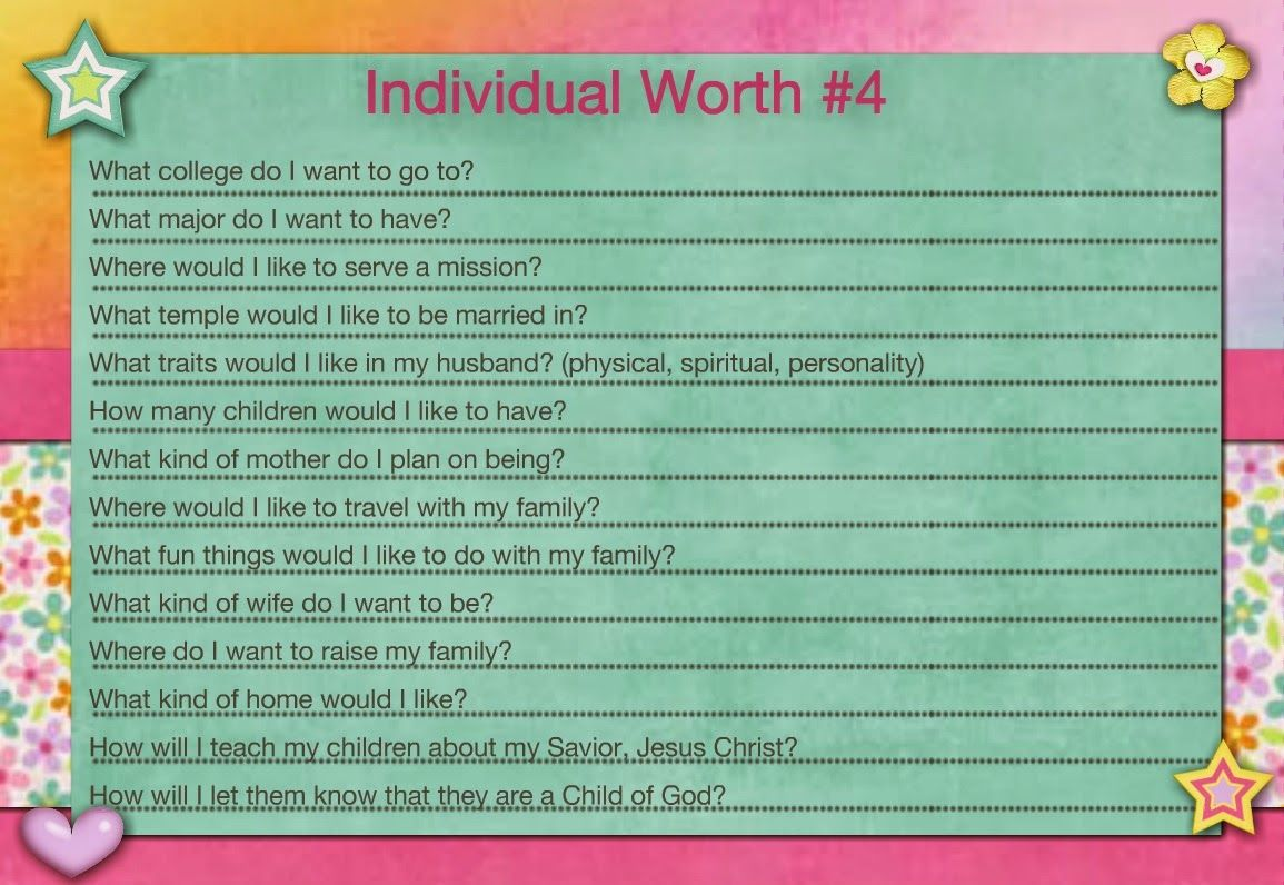 I Love The Ideas Of Ann S Personal Progress Blog I Love To Give The Girls Worksheets To Do