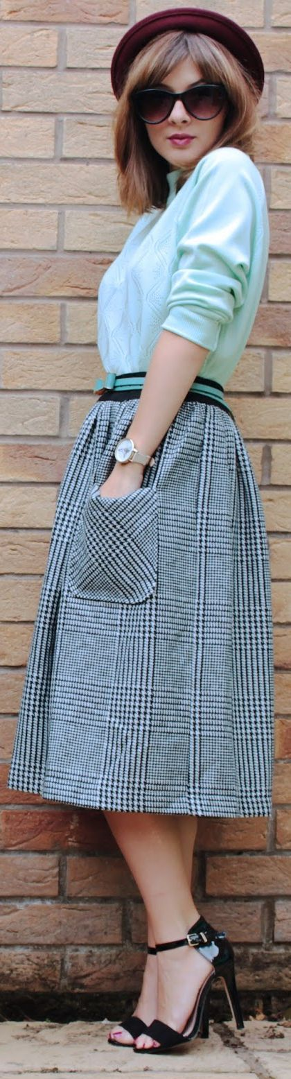 Outfit O'clock #216 - Mint Winter