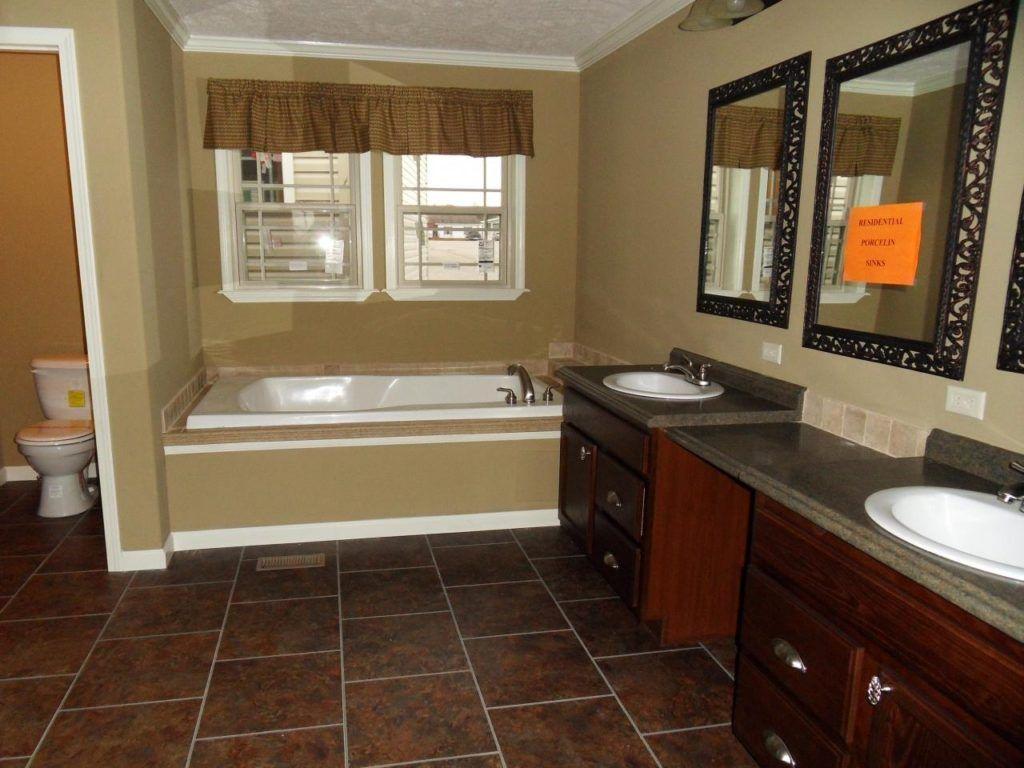 Double Wide Trailer Bathroom Remodel Mobile Home Ideas Pinterest - Trailer bathroom remodel