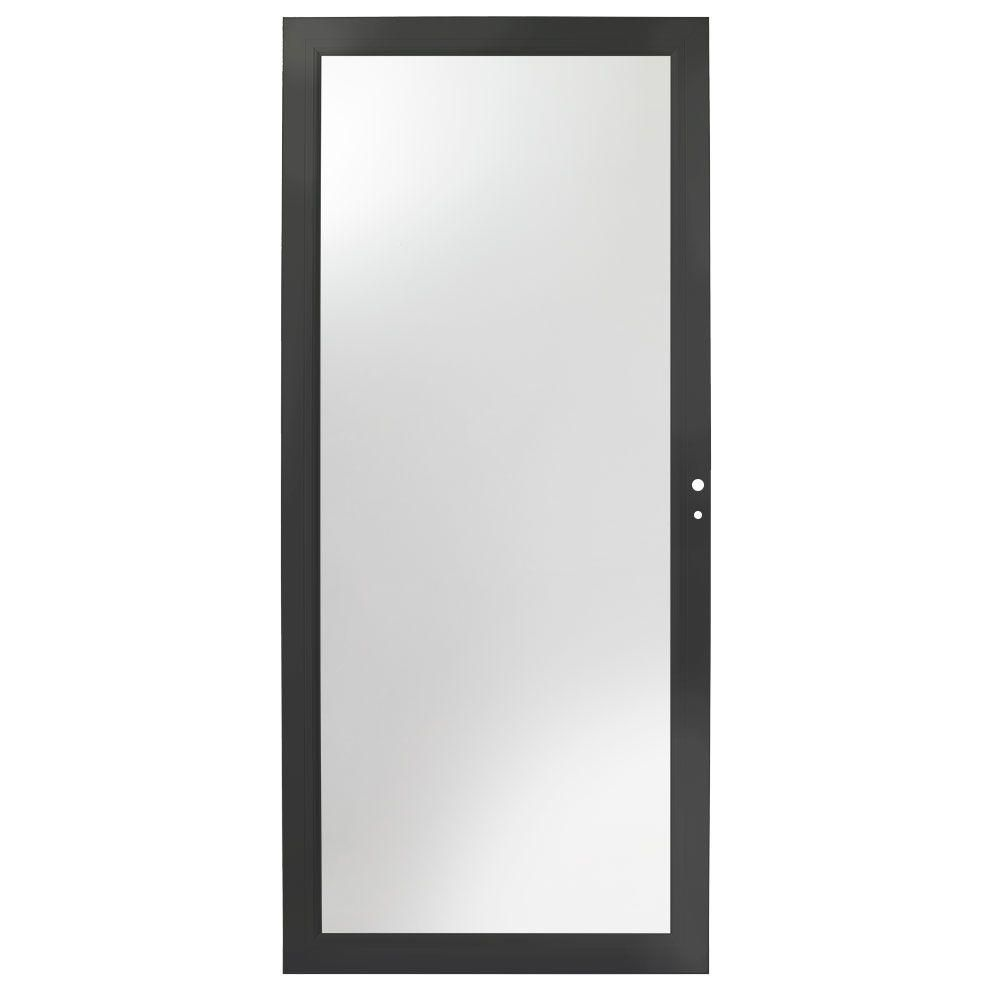 Andersen 36 In X 80 In 3000 Series Black Right Hand Fullview Easy Install Aluminum Storm Door House Decor Aluminum Storm Doors Doors Exterior Doors