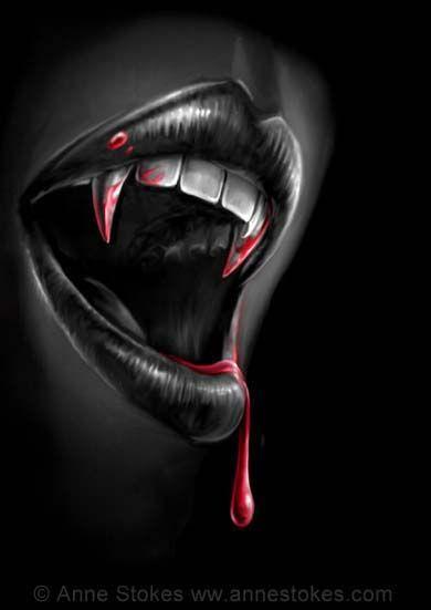 Anne Stokes Drawing Ideas Female Vampire Gothic Vampire