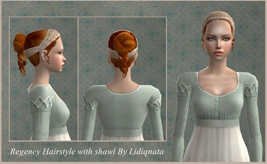 19th Century Hair 19th Century Hair Sims 2 Hair Sims