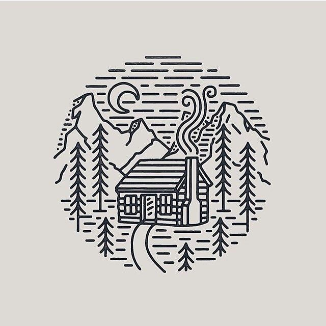 Line Drawing Of Your House : Delta breezes slow roasted co kulipintyó pinterest