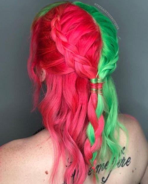 Perfect Color Hair Summer Hair Color Fun Summer Hair Color Two Color Hair