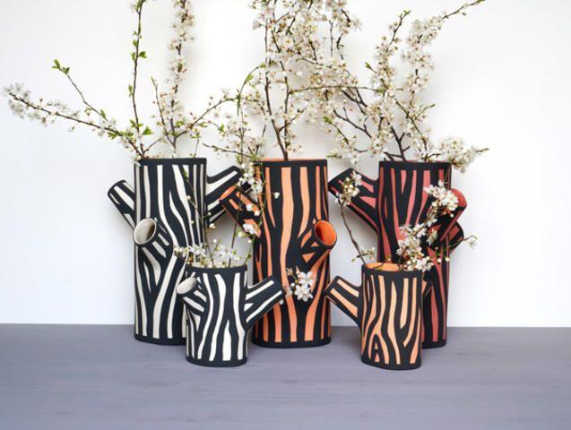 Tree Trunk Vase Small - Trouva