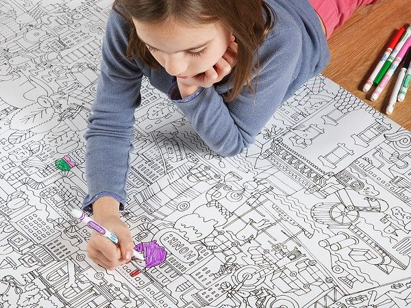 Large Coloring Posters