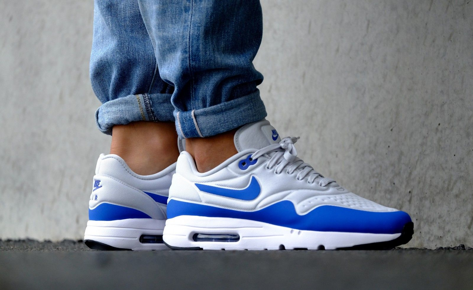 Nike Air Max 1 Ultra Special Edition Pure Platinum/ Game Royal - 845038-004