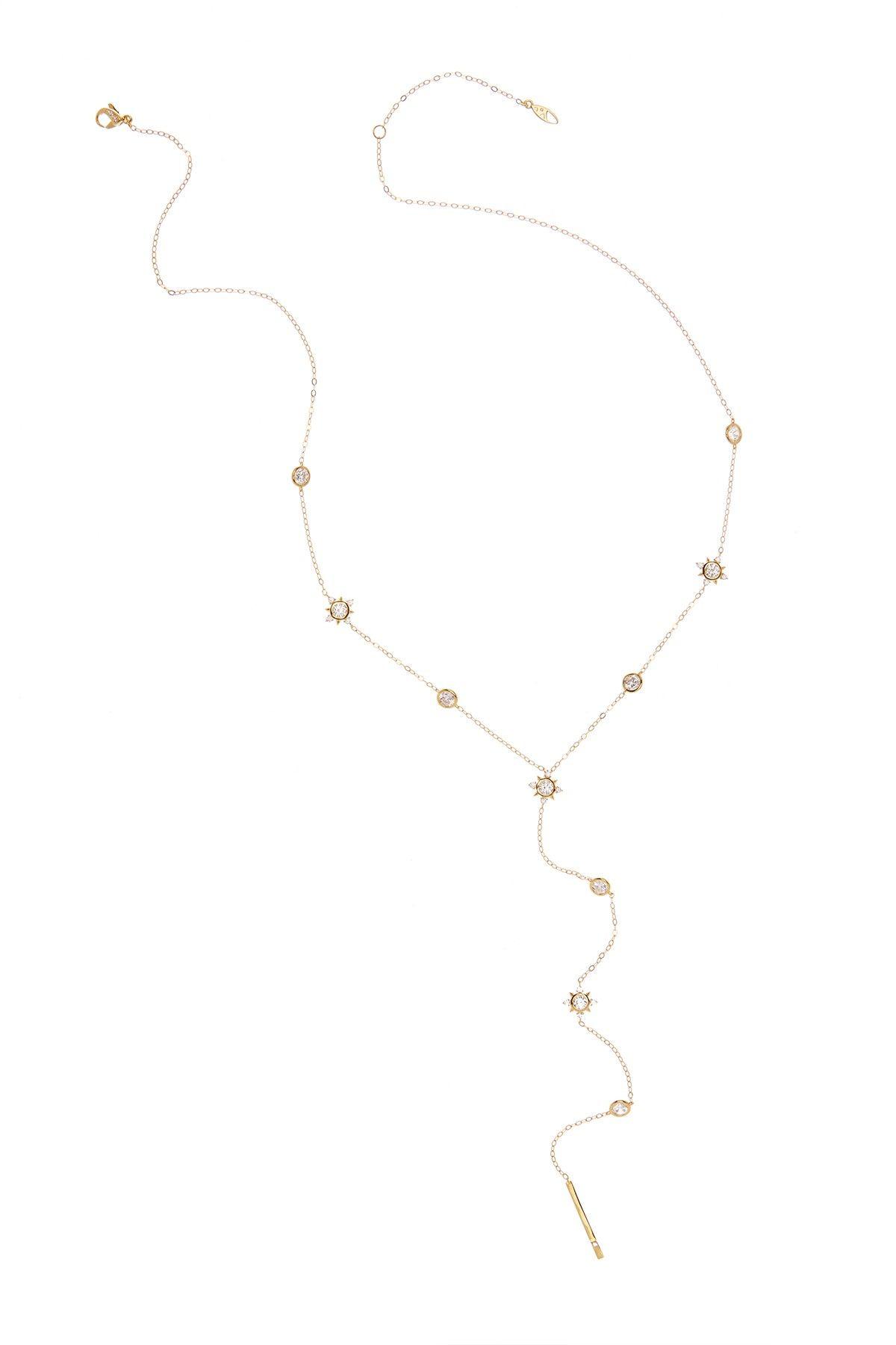 Liberty Y-Drop Necklace