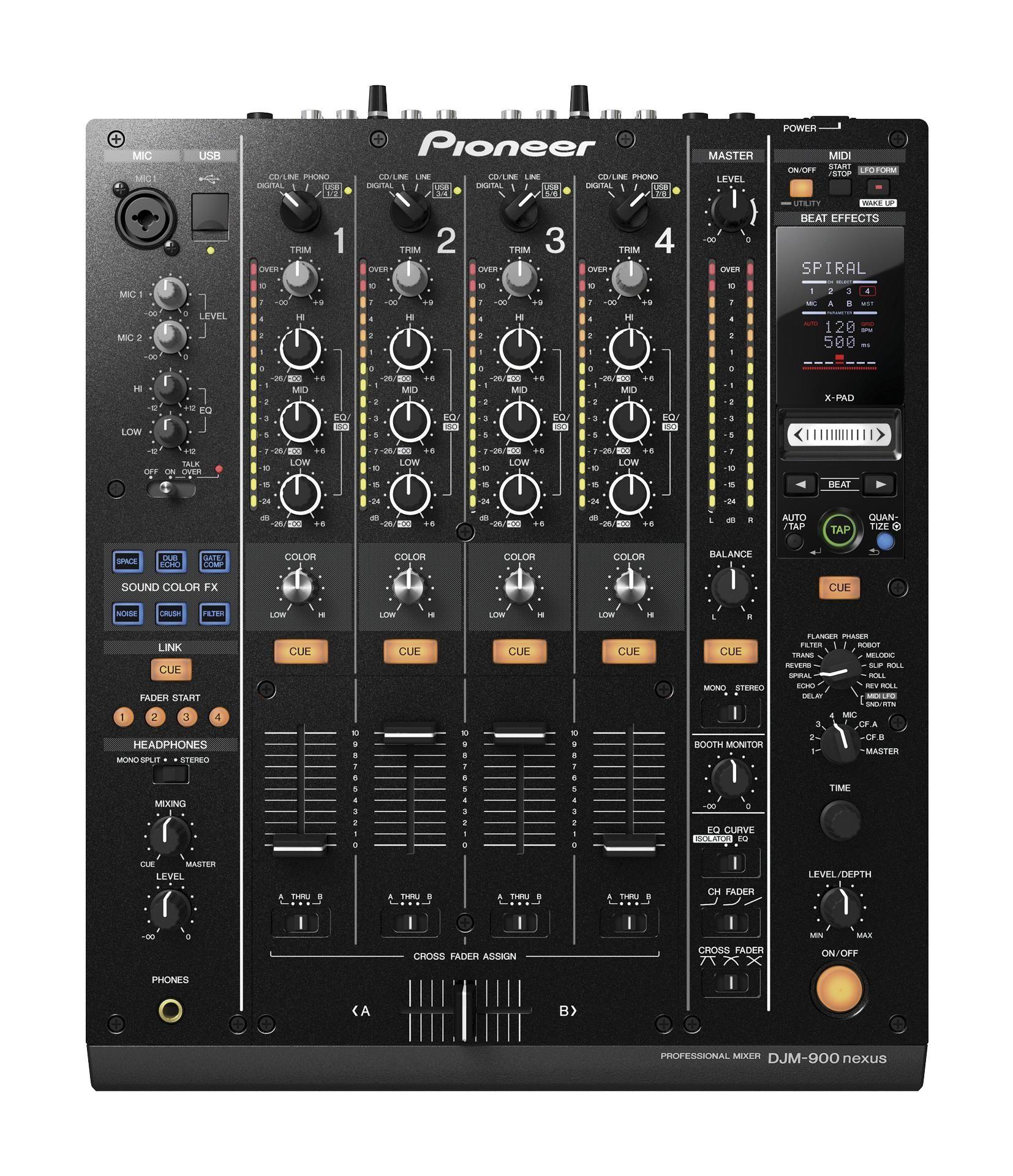 Pioneer Djm 900 Nexus Mixer Dream Music Set Up Dj Gear