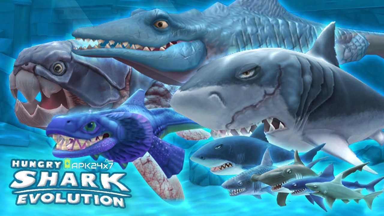 Hungry Shark Evolution v5.7.0 Mod APK | Evolution, Shark and Android