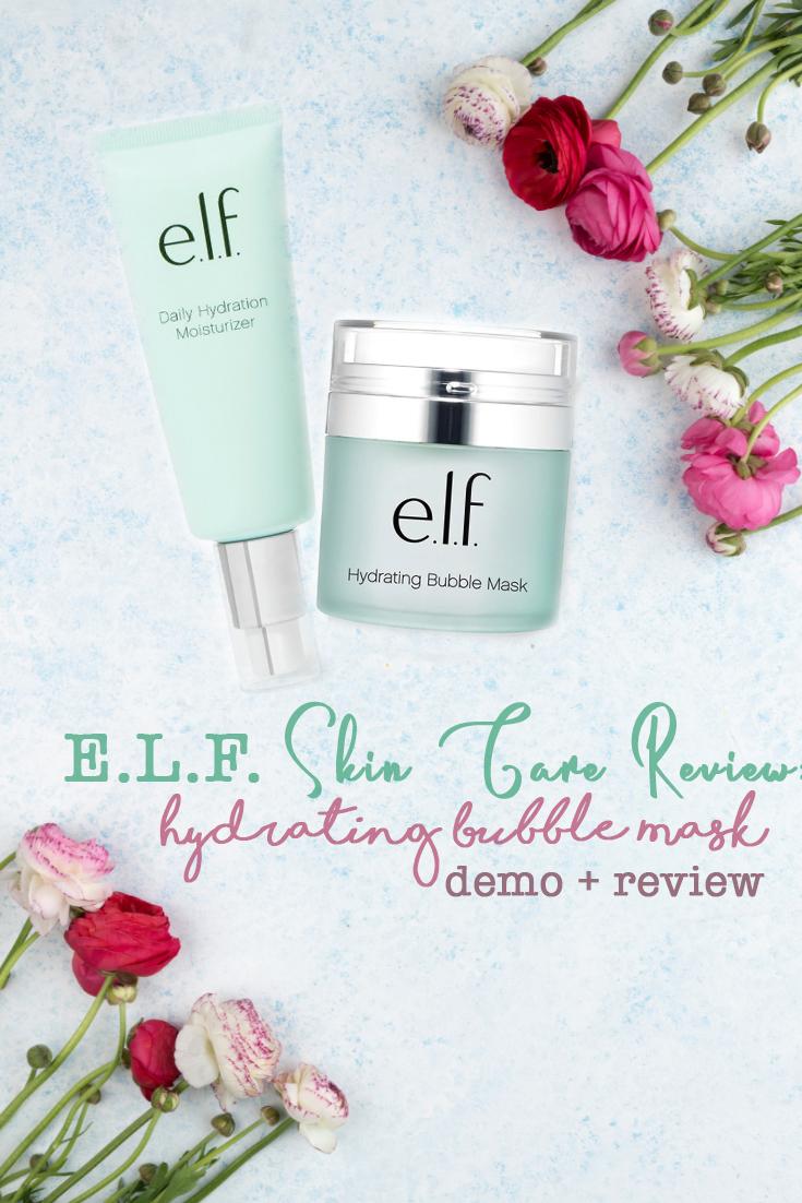 ELF Skin Care Bubble Mask Elf hydrating bubble mask