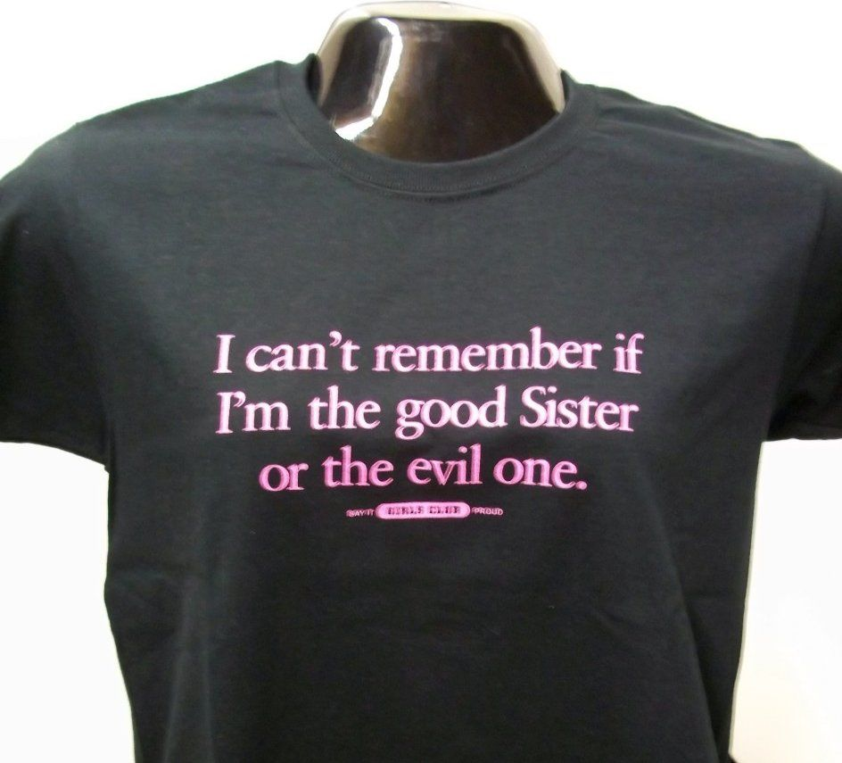 Best quality black t shirt - Our Evil Sister T Shirt Is The Perfect Gift For Every Sassy Sister In Your