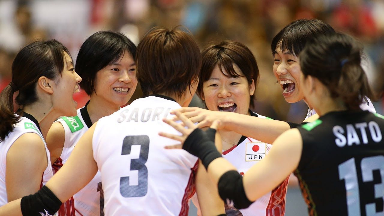 Japan Volleyball Team Group Jpn High Resolution Stock Photography And Images Alamy