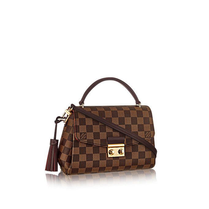 Croisette Damier Ebene Canvas in WOMEN s HANDBAGS collections by Louis  Vuitton 5299eee9c6dd9