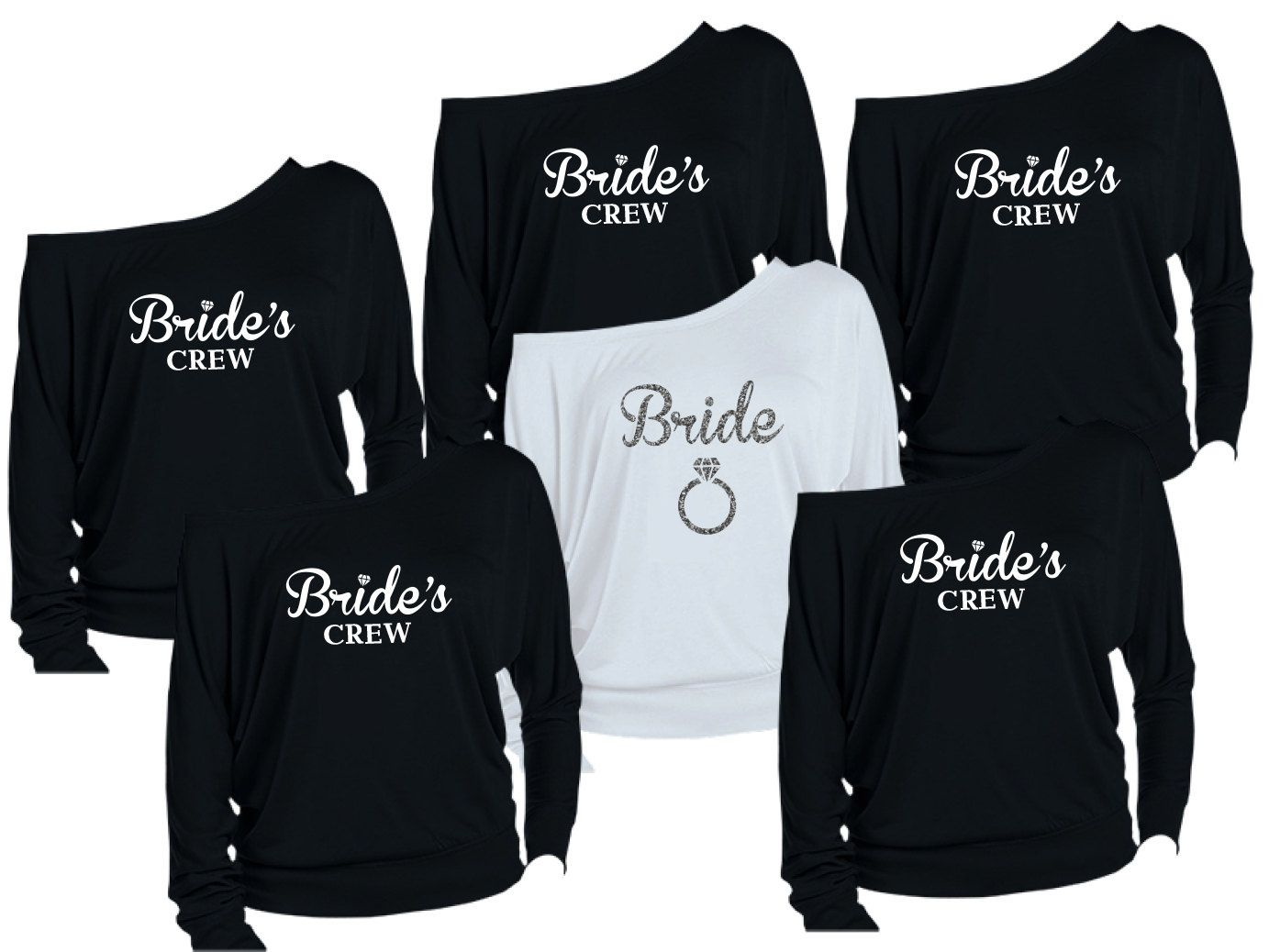 Like This But Definitely D I Y Route 8 Personalized Bridesmaids Shirts Brides Shirts By Hotbri Personalized Bride Bridesmaids Personalized Bridesmaid Shirts