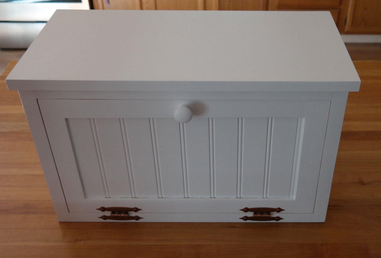 Bread Box Spice Storage Kitchen Storage Beadboard Countertop